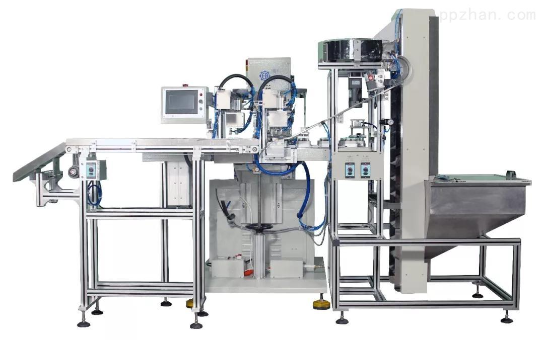 SPCST-828VD2-塑料瓶盖双色输送带密封油盅移印机