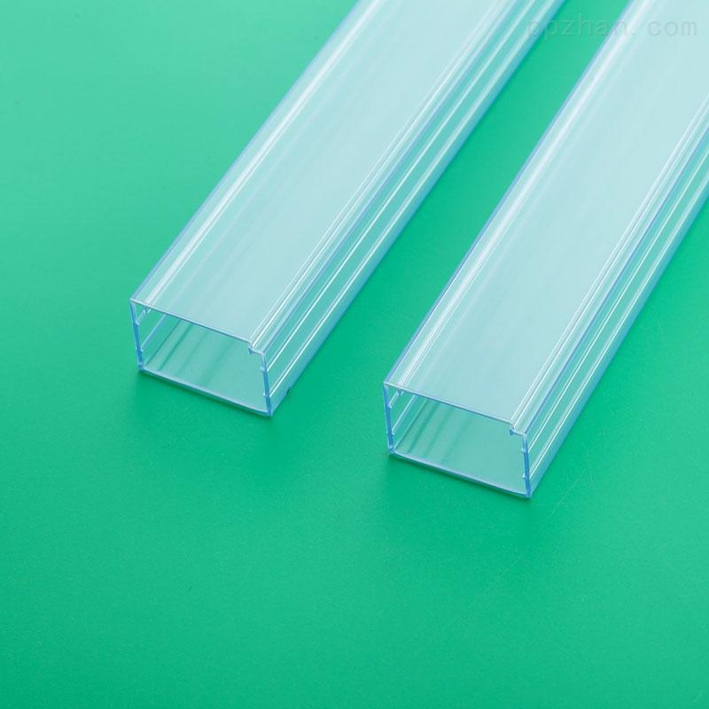 河北透明方形管定制管�b�子物料PVC包�b管