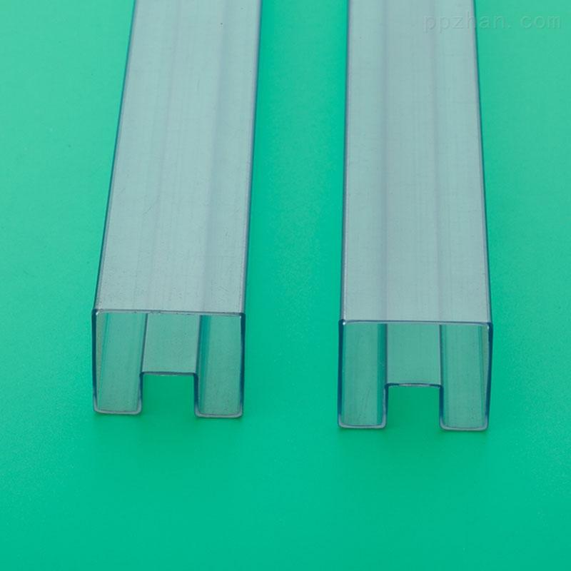 透明塑料方管电子变压器pvc包装管tube