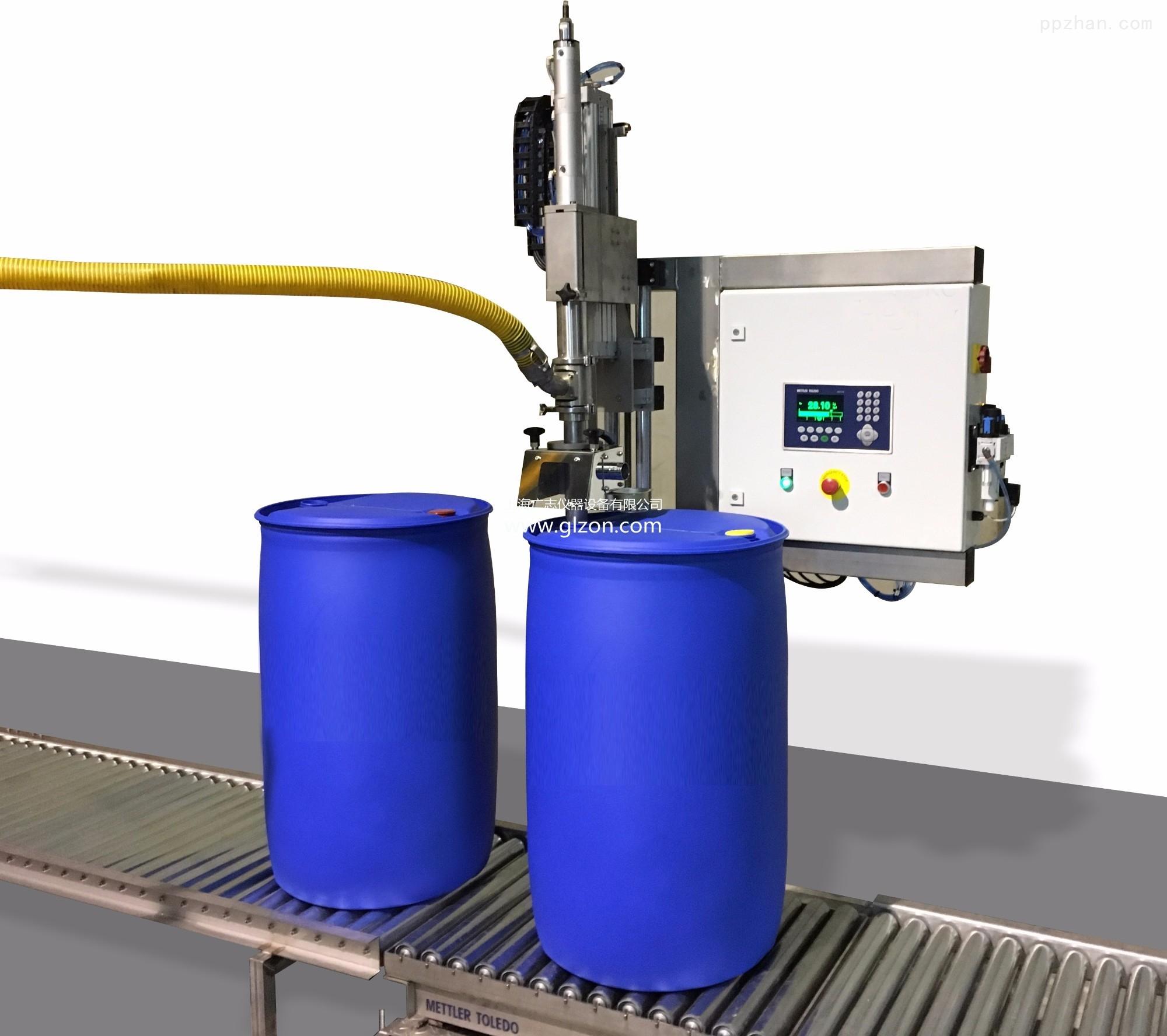大桶油漆化工原料灌装机