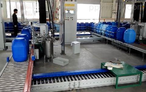 200KG灌裝設備,磷酸灌裝機