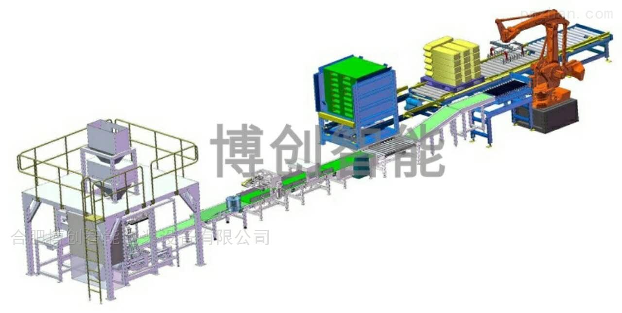SGB560-L型粉料全自动计量包装机组(50-2500g )