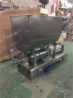 酱类气动柱塞式定量灌装机