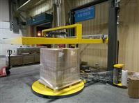 在线覆顶膜式缠绕包装机